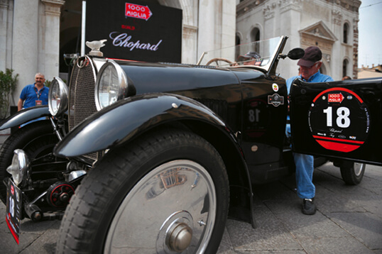 Chopard and Mille Miglia