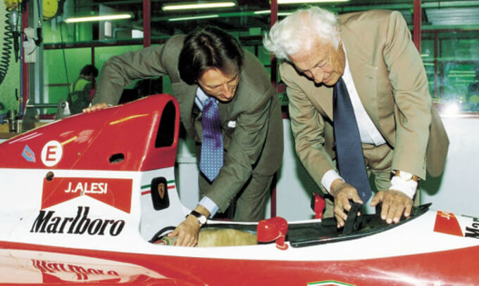 Sprezzatura - Mr. Luca Di Montezemolo and Mr. Gianni Agnelli