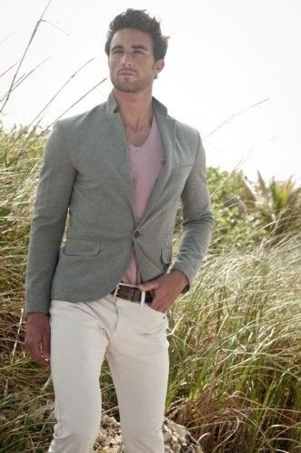 Blazer and t-shirt