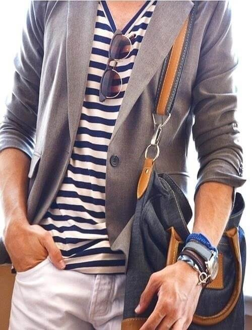 Stripes and sunglasses