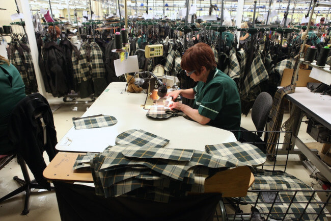 Barbour Factory Floor