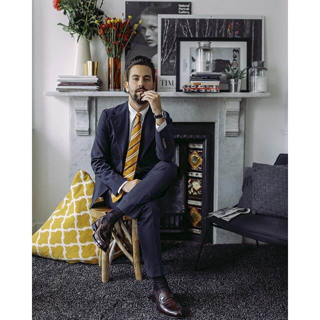 Yellow Suitwear