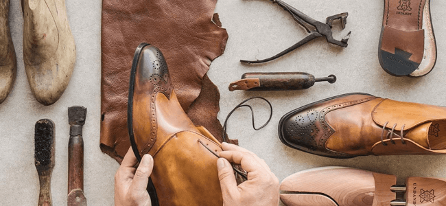handcrafted shoes at Undandy