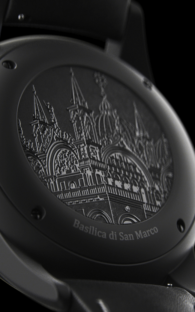 The Venice Serice Basilica de San Marco on Filippo Loreti watch